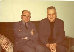 Guy-Marie Riobé : avec des amis.