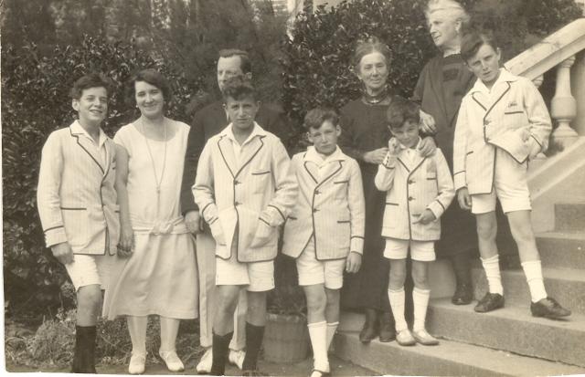 Guy-Marie Riobé en famille